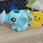 玩具寶寶洗澡戲水玩具大象花灑親子互動玩具-享家