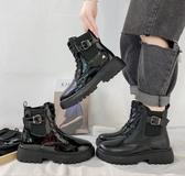 馬丁靴 網紅增高瘦瘦女夏季款潮靴新款百搭復古英倫風短靴 - 古梵希