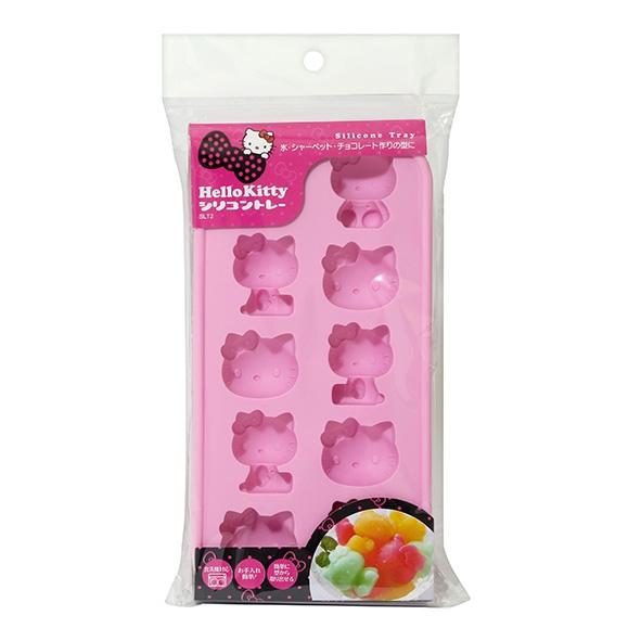 Hello Kitty 造型矽膠製冰盒/烘焙模