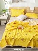 空調毯夏涼毯空調毯薄款夏季毯子夏天薄毯單人春毯雙人兒童水洗棉夏毯