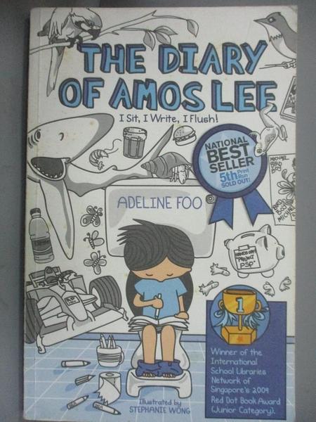 【書寶二手書T9/原文小說_OPU】The diary of Amos Lee : I sit, I write, I