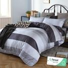 加大 182x188cm 頂級100%天絲 40s400針紗 床包四件組(兩用被套)-辛夷 【金大器】