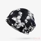 帽子女夏季包頭帽透氣薄款蕾絲頭巾帽光頭化療堆堆帽孕婦帽月子帽 店慶降價