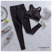 Catworld 微加性感。BRA背心加長褲運動套裝兩件組【16600410】‧S/M/L