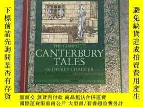 二手書博民逛書店【罕見】The complete Canterbury Tale