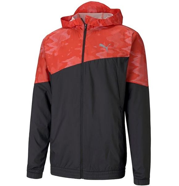 PUMA 男性慢跑系列 LAST LAP圖樣風衣外套- NO. 51937706