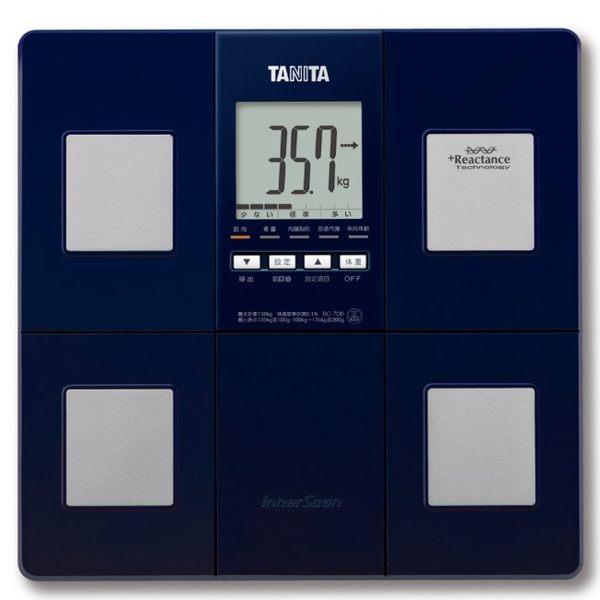 TANITA 八合一體組成計(日本原裝) BC706 深藍