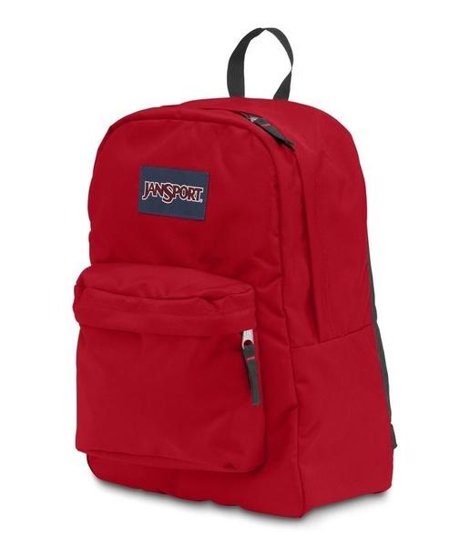 JANSPORT 校園後背包 基本款-紅5XP-43501