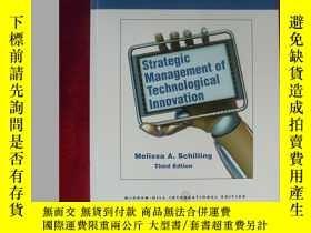 二手書博民逛書店(16開本)Strategic罕見Management of Technological Innovation(技