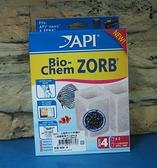【西高地水族坊】美國魚博士API 去毒淨水生物濾材(過濾器專用)2PCS