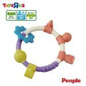 玩具反斗城 PEOPLE 環狀手搖鈴咬舔玩具