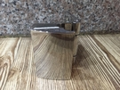 【麗室衛浴】美國KOHLER 頂級五金鉸鍊 90度 玻對牆/不鏽鋼活動夾具 1210393-SHP  內開專用
