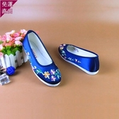 布鞋  新品布底千層底繡花鞋女老北京布底布鞋 【快速出貨】