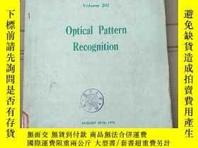 二手書博民逛書店optical罕見pattern recognition(P2731)Y173412
