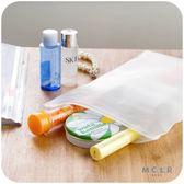 ♚MY COLOR♚旅行整理分類密封袋 防水 收納 置物 防水 洗漱 透明 加厚 防塵 衣物 (小)【J010】
