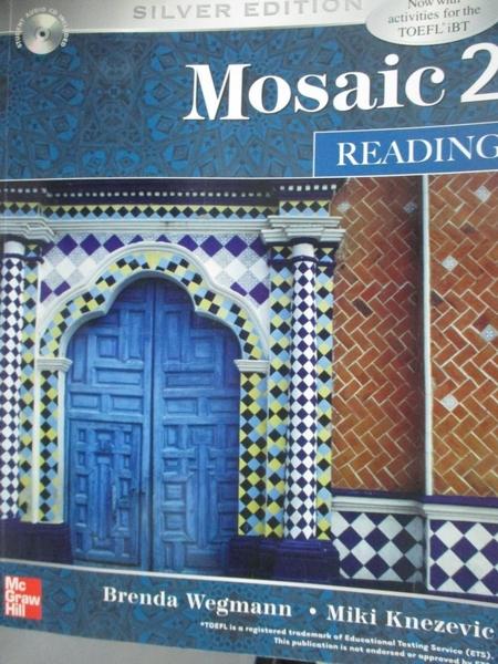 【書寶二手書T3/語言學習_YJY】Mosaic 2. Reading_Wegmann_附光碟