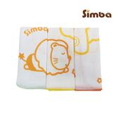 小獅王印花紗布手帕(3入) 嬰兒手帕