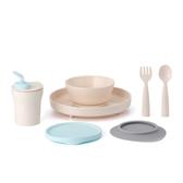 Miniware 天然聚乳酸兒童學習餐具 小食客六入組-香草薄荷