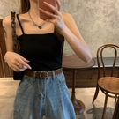 小吊帶背心女韓版性感港味短款上衣夏季