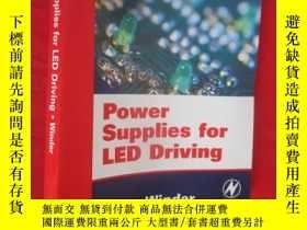 二手書博民逛書店Power罕見Supplies for LED Driving