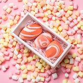 粉色三文魚干濕粉撲化妝球海綿美妝蛋不吃粉彩妝蛋 黛尼時尚精品