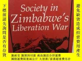 二手書博民逛書店津巴布韋解放戰爭中的社會狀況研究罕見Society in Zim