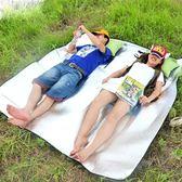 防水野餐墊戶外沙灘防潮墊加厚便攜3人-4人折疊帳篷坐墊子200x200第七公社
