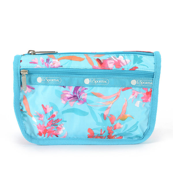 LeSportsac - Standard旅行化妝包/收納包(夏日花卉)7315P E184