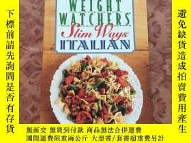二手書博民逛書店weight罕見watchers slim ways Itali
