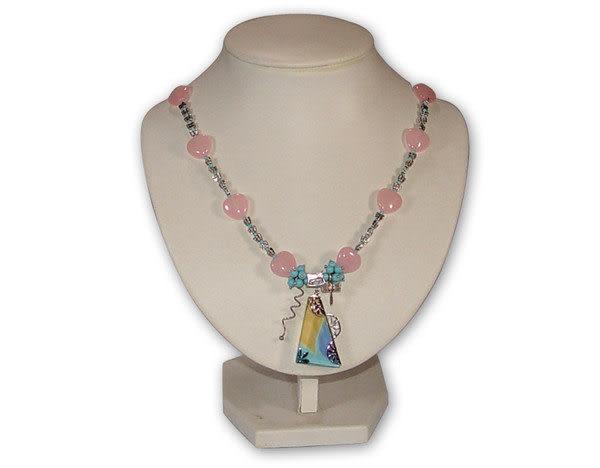 鹿港窯~居家開運琉璃 珠寶 項鍊~浪花◆附精美包裝‧免運費送到家