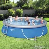 兒童充氣游泳池家用加厚超大號水上樂園大型成人家庭寶寶戲水泳池.igo 港仔會社