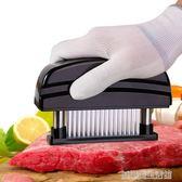 不銹鋼鬆肉針圓形嫩肉器斷筋刀牛排德國砸肉器敲肉錘嫩肉寶