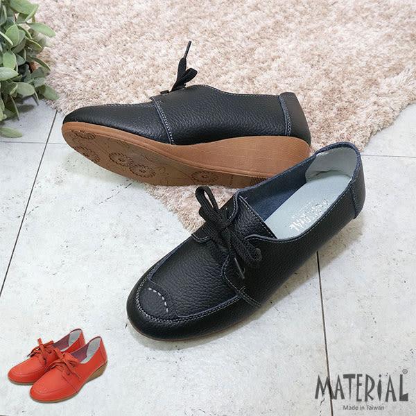 包鞋 簡約綁帶楔型包鞋 MA女鞋 T6352