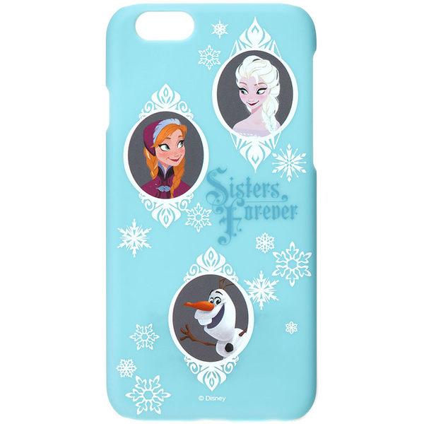 iJacket iPhone 6 / 6s 迪士尼 復古霧面硬式保護殼 - 冰雪奇緣