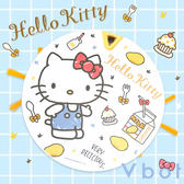 【送擦地組】Vbot x Hello Kitty i6+ 掃地機器人 吸塵器 蛋糕機 二代加強 (芒果奶霜)