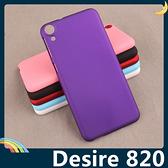 HTC Desire 820 細磨砂手機殼 PC硬殼 超薄簡約 防指紋 保護套 手機套 背殼 外殼
