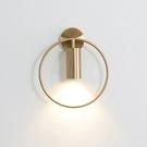 北歐輕奢線條壁燈跨境軟裝設計師創意個性餐廳床頭過道壁燈led燈 【母親節禮物】