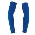 MIZUNO 美津濃 彈性袖套 涼感 防曬 抗紫外線 騎車必備 台灣製 32TY8G0116 深藍 [陽光樂活](C3)
