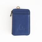 訂製預購 [輕鬆行-A款] HOZAYA 扣扣包 | 植鞣真皮 極簡卡夾包 / 鑰匙包