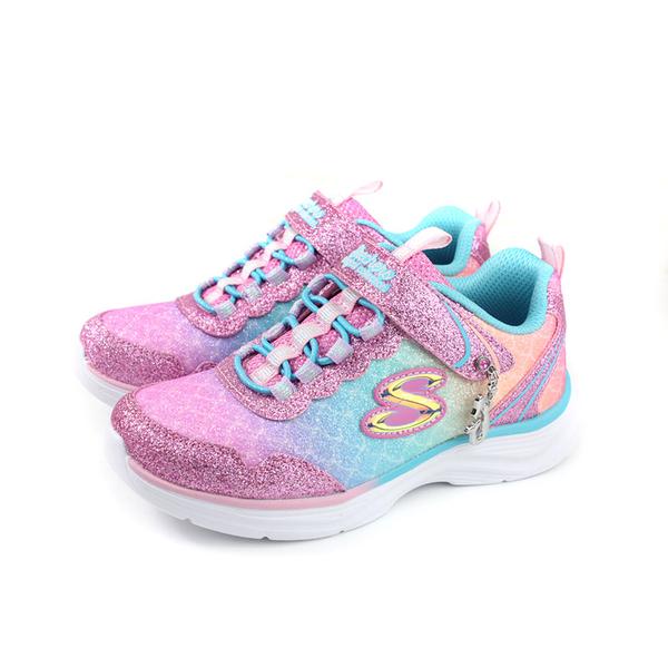SKECHERS magical collection 休閒運動鞋 藍粉 漸層 童鞋 81444LLPMT no107