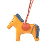 【HERMES】Rodeo MM Charm 吊飾(黃色/棕色/深藍色) HE99000068