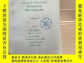 二手書博民逛書店progress罕見in nuclear magnetic resonance spectroscopy volu