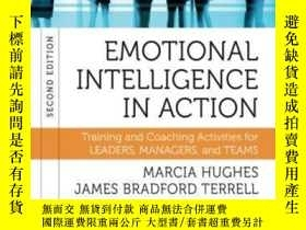 二手書博民逛書店Emotional罕見Intelligence In Action: Training And Coaching