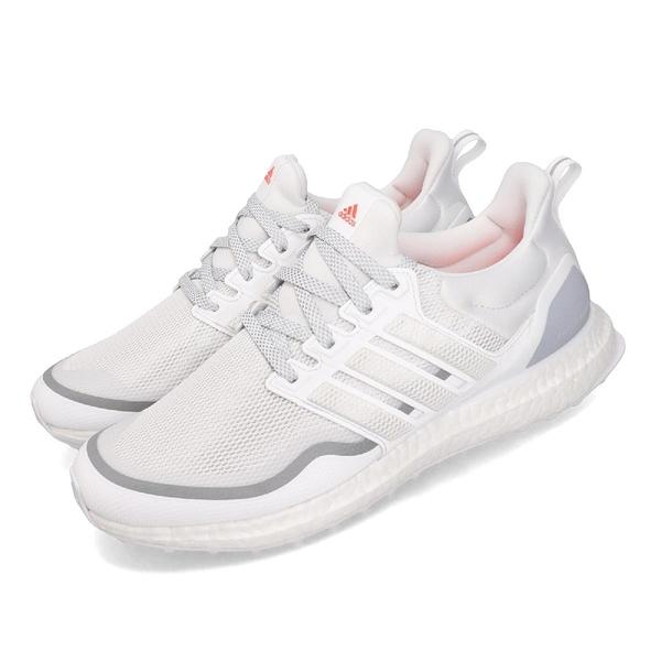 adidas 慢跑鞋 UltraBOOST Reflective 白 灰 男鞋 反光設計 運動鞋 【PUMP306】 EG8104