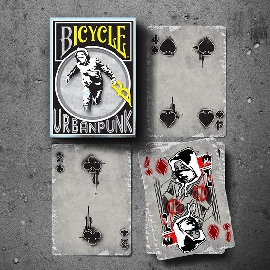 【USPCC 撲克】BICYCLE URBAN PUNK 都市龐克撲克牌