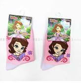 【KP】15-18cm 19-21cm 襪子 迪士尼 公主系列 小公主蘇菲亞 兒童襪 卡通襪 DTT100007629