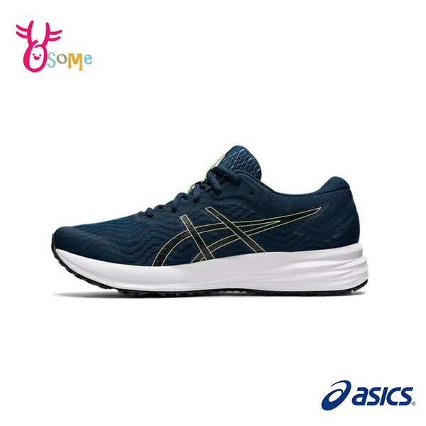 ASICS慢跑鞋 男鞋 PATRIOT 12 跑步鞋 輕量運動鞋 入門款 慢跑鞋 亞瑟士 C9178#藍色◆奧森