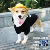 寵物配飾狗狗帽子泰迪柯基可愛幼犬小黃帽飾品【古怪舍】