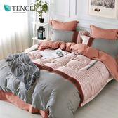 天絲 Tencel 安思娜 床包冬夏兩用被 雙人四件組 100%雙面純天絲 伊尚厚生活美學