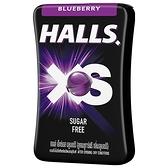 Halls XS 無糖迷你薄荷糖酷冰藍莓口味13.8g【愛買】